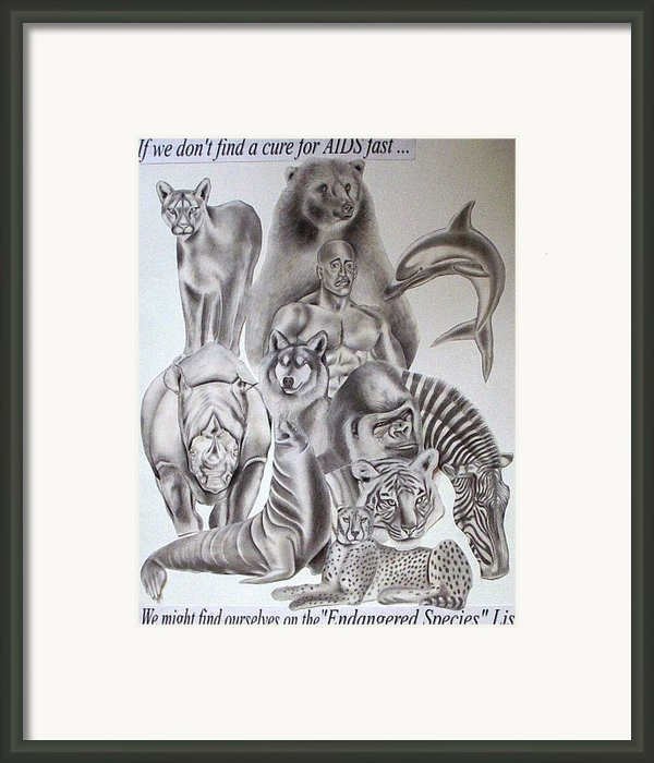 Endangered Species Framed Print By Rick Hill