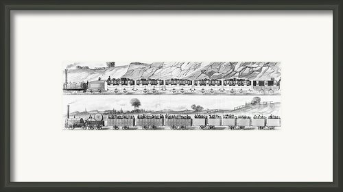 England: Railroad Travel Framed Print By Granger