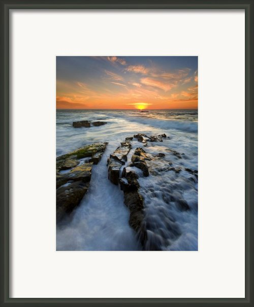 Engulfed Framed Print By Mike  Dawson