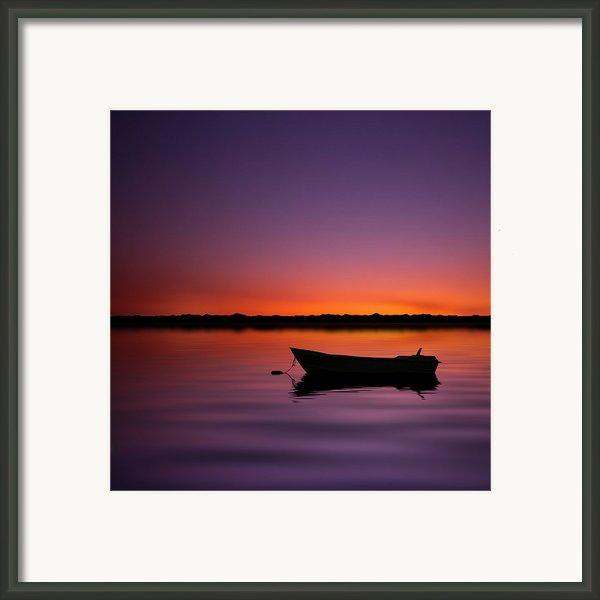 Enjoying Serenity Framed Print By Carlos Gotay