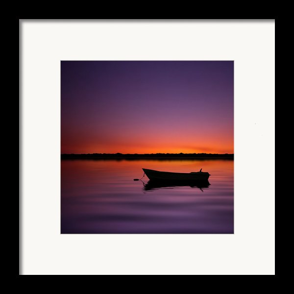 Enjoying Serenity Framed Print By Carlos Gotay