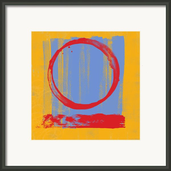 Enso Framed Print By Julie Niemela