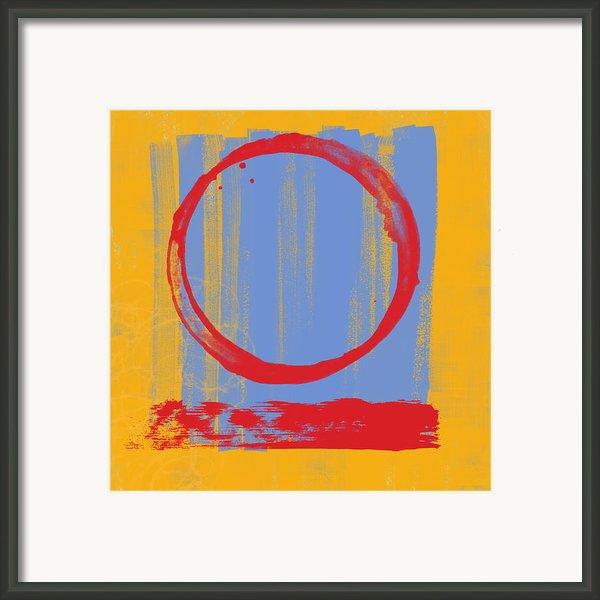Enso Framed Print By Julie Niemela