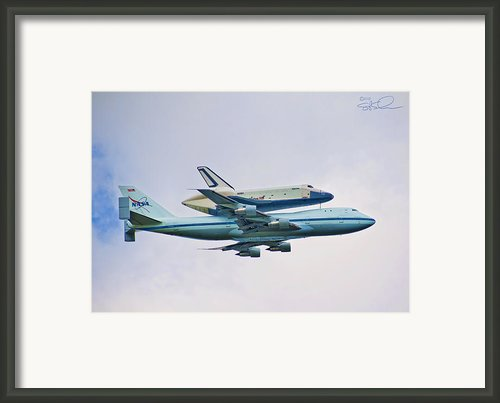Enterprise 5 Framed Print By S Paul Sahm