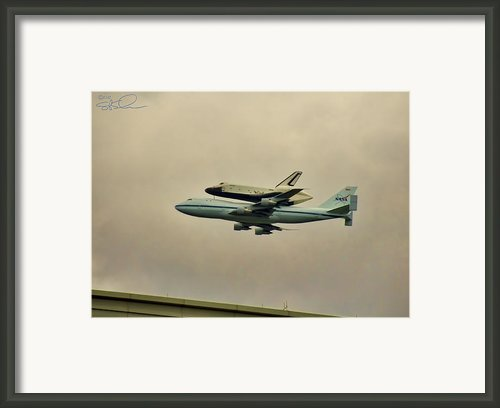 Enterprise 9 Framed Print By S Paul Sahm