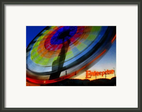 Enterprise Framed Print By David Lee Thompson