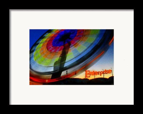 Enterprise Framed Print By David Lee Thompson