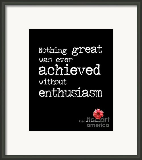 Enthusiasm Framed Print By Kate Mckenna