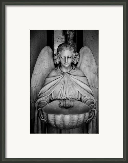 Entrance Angel Framed Print By Anthony Citro