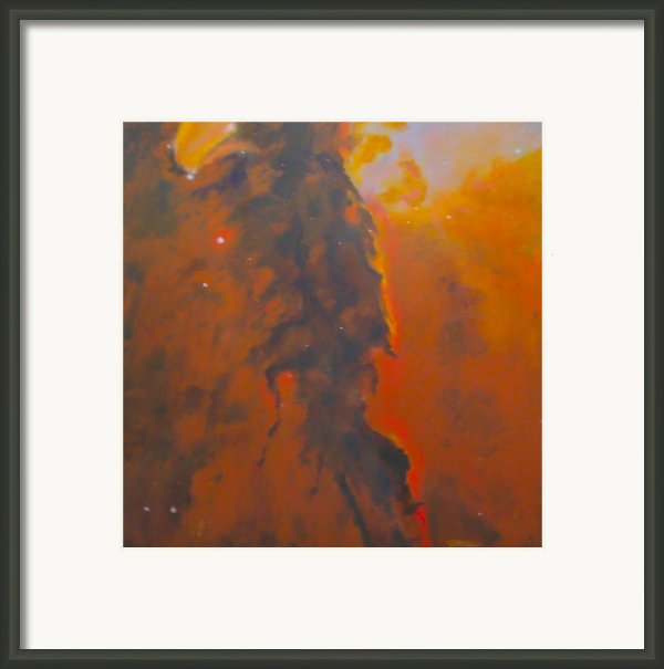 Epsilon Eridani A Stellar Spire In Eagle Nebula Framed Print By Jim Ellis