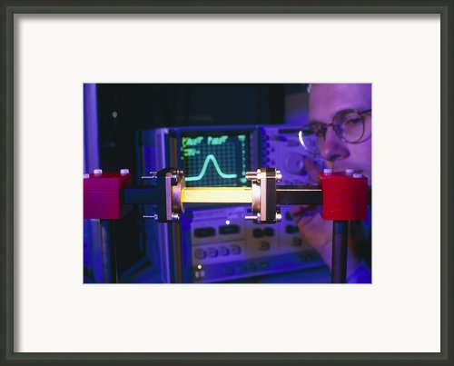 Equipment For Superluminal Microwaves Framed Print By Volker Steger