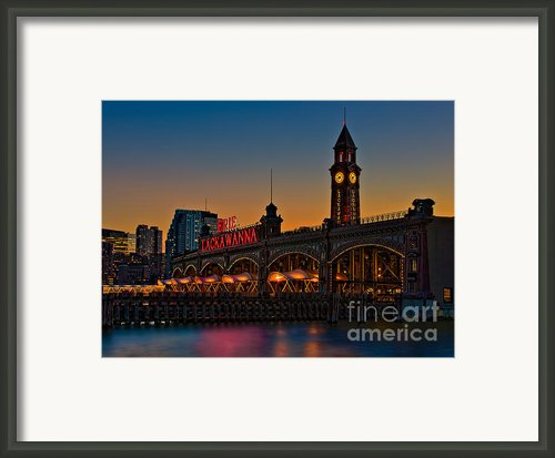 Erie Lackawanna Framed Print By Susan Candelario