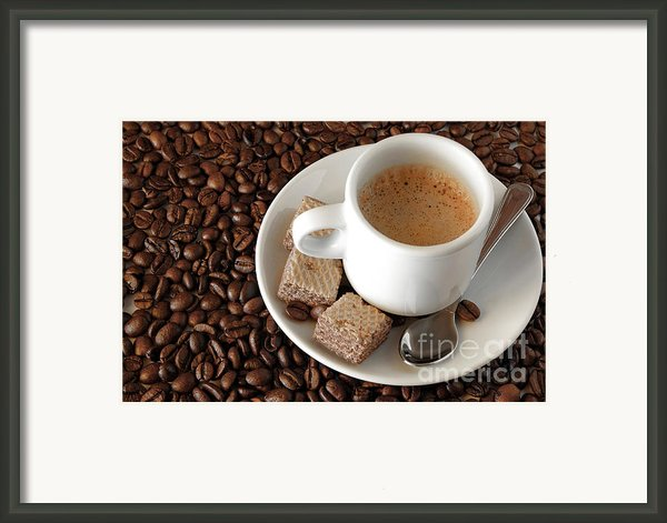 Espresso Coffee Framed Print By Carlos Caetano
