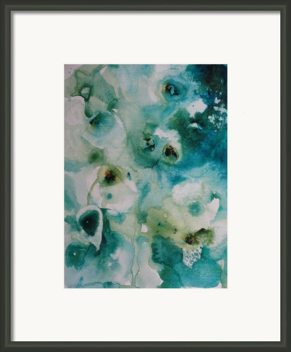Essence Of Flower Framed Print By Elizabeth Carr