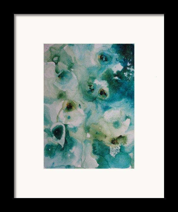 Essence Of Flower Framed Print By Elizabeth Carr