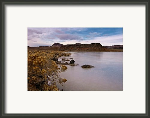 Et Lake Ii Framed Print By Kurt Golgart