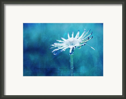 Eternal - Textured Framed Print By Aimelle