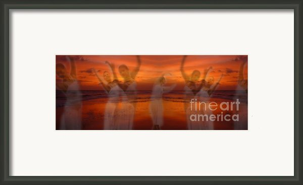 Eternal Dance Framed Print By Jeff Breiman