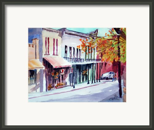 Eureka Springs Ak 1 Framed Print By Ron Stephens
