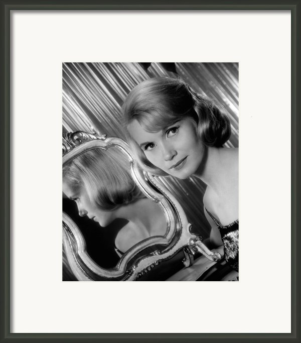 Eva Marie Saint, Ca. Early 1960s Framed Print By Everett
