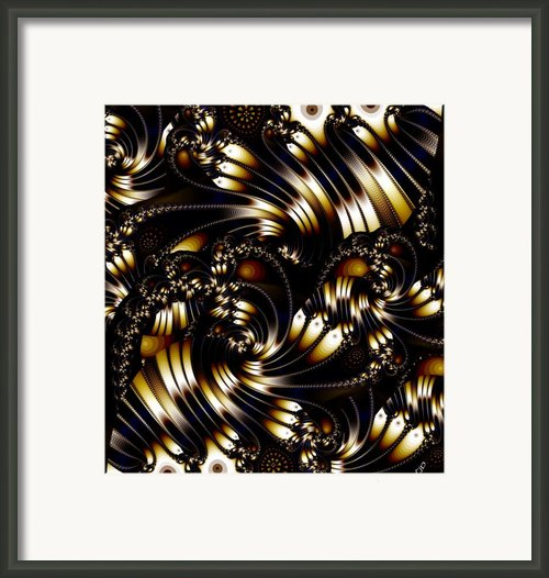 Evening Elegance Framed Print By Ron Bissett