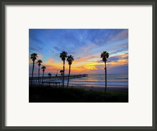 Evening Light  Framed Print By Carl Jackson
