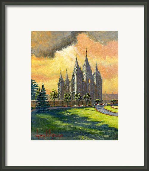 Evening Splendor Framed Print By Jeff Brimley