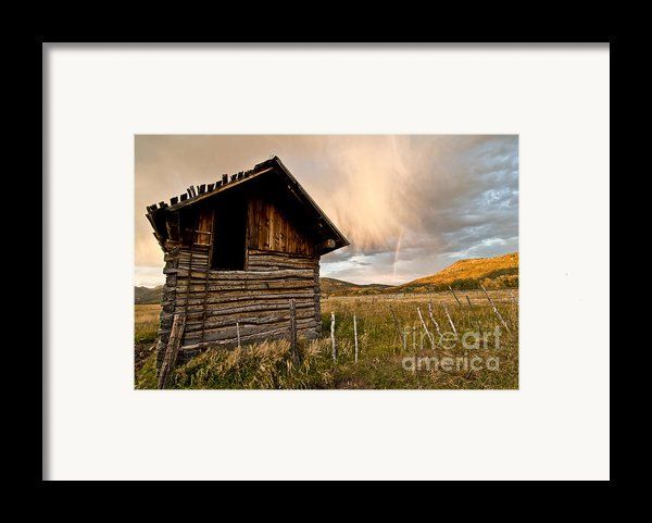 Evening Storm Framed Print By Jeff Kolker