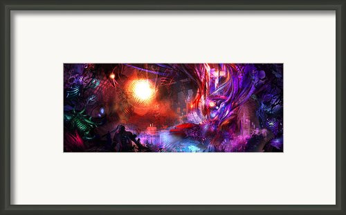 Event On The Horizon Framed Print By Alex Ruiz