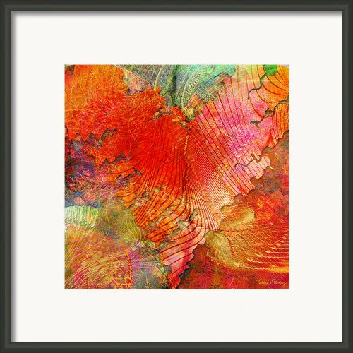 Exhilaration Framed Print By Barbara Berney