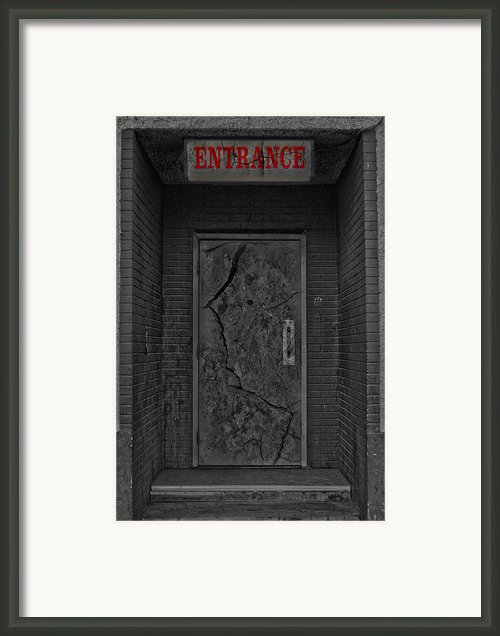 Exit Framed Print By Jerry Cordeiro