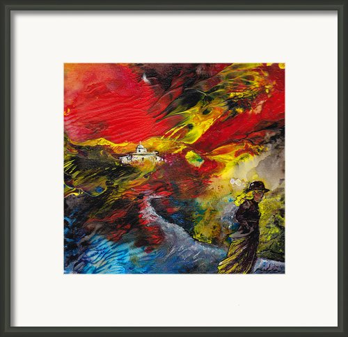Expelled From The Land Framed Print By Miki De Goodaboom