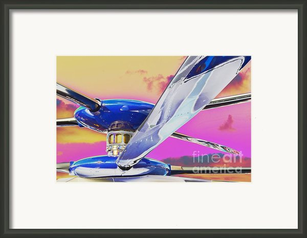 Experimenting With An Experimental Framed Print By Lynda Dawson-youngclaus