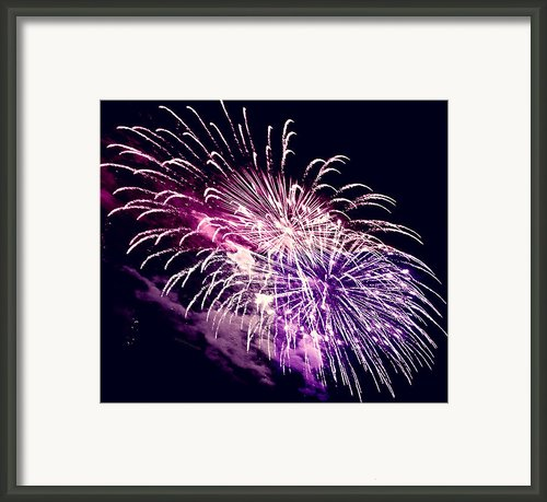 Exploding Stars Framed Print By Digiart Diaries By Vicky Browning