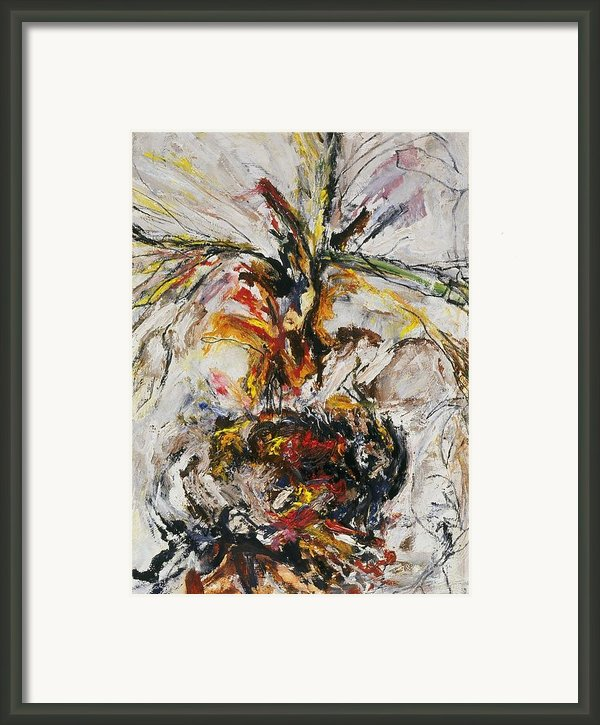Explosion Two Framed Print By Iris Gill