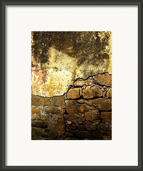 Exposed Bricks Framed Print By Olden Mexico