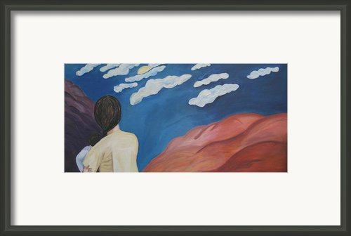 Expulsion Framed Print By Lorraine Toler