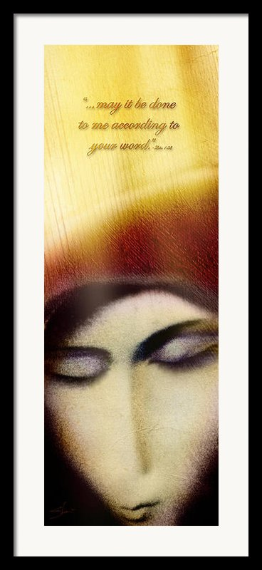 Extreme Surrender Framed Print By Shevon Johnson