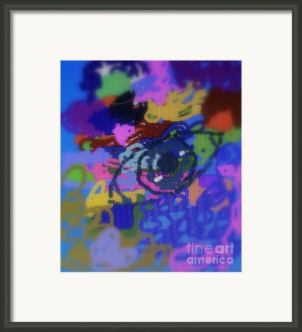 Eye Framed Print By Cybele Chaves