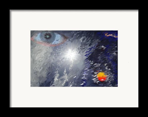Eye In The Sky Framed Print By Mark Stidham