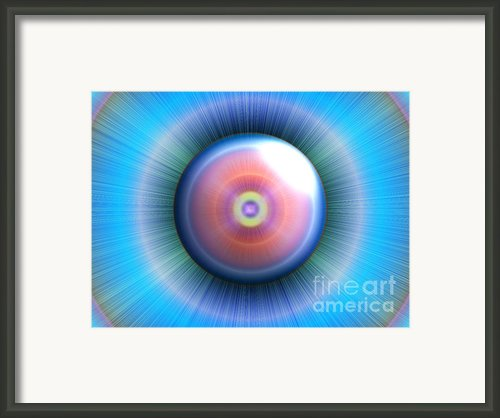 Eye Framed Print By Nicholas Burningham