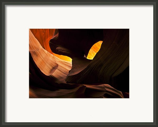 Eye Of The Needle Framed Print By Mike  Dawson