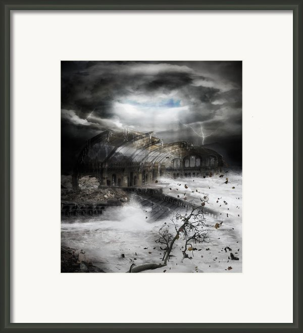 Eye Of The Storm Framed Print By Karen H