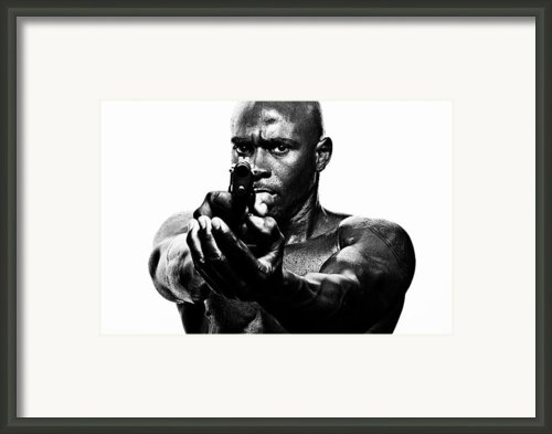Eye To Eye With Your Killer Framed Print By Val Black Russian Tourchin