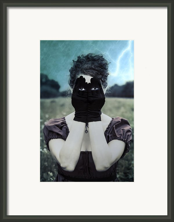Eyes Framed Print By Joana Kruse