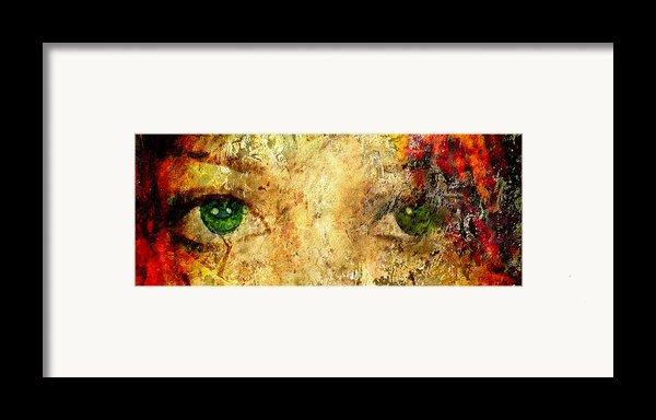Eyes Of The Beheld Framed Print By Brett Pfister