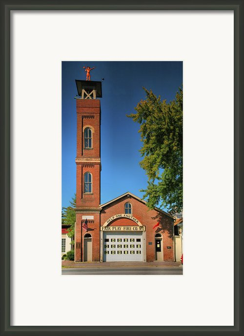 Fair Play Fire Company Framed Print By Steven Ainsworth