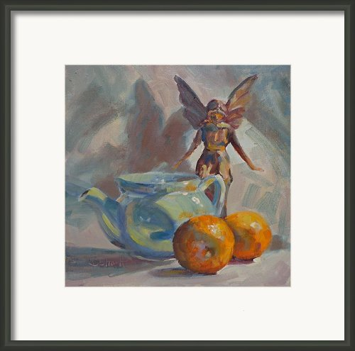 Fairly Still Framed Print By Donna Shortt