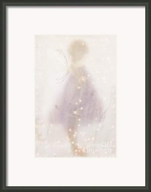 Fairy Lights Framed Print By Stephanie Frey