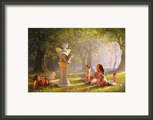 Fairy Tales  Framed Print By Greg Olsen